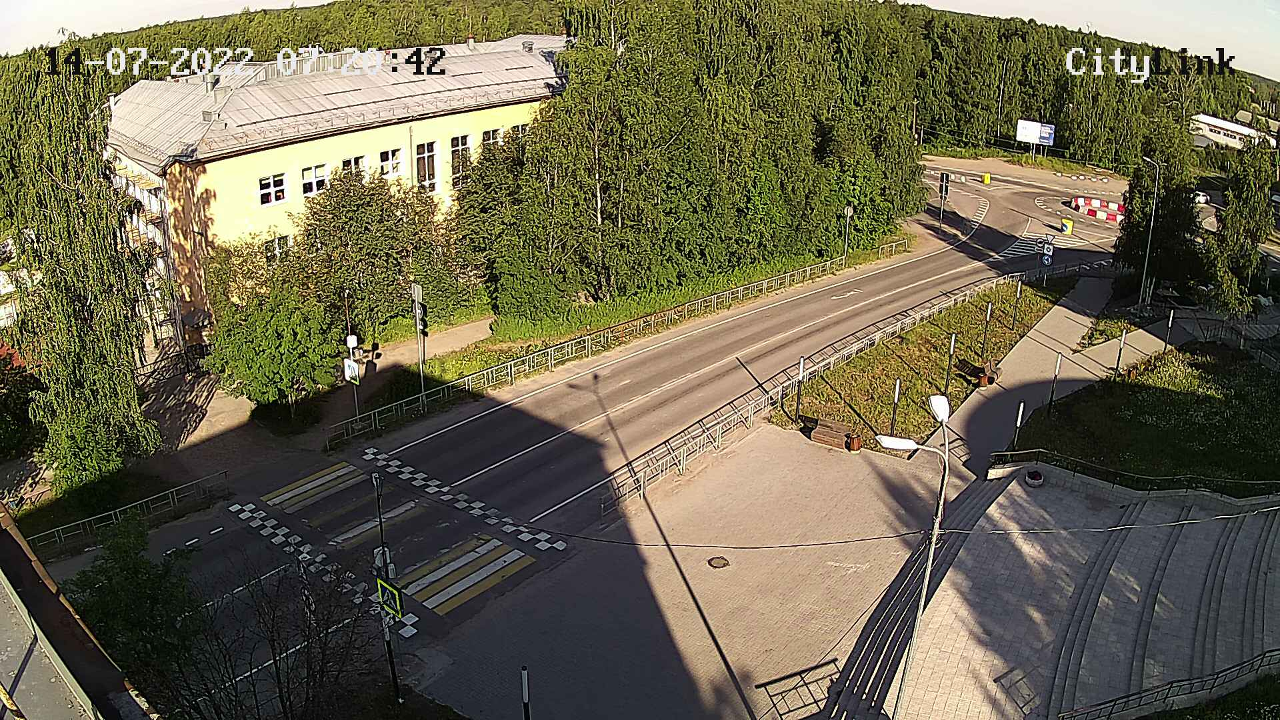 Пешеходный переход на ул. Ленина
