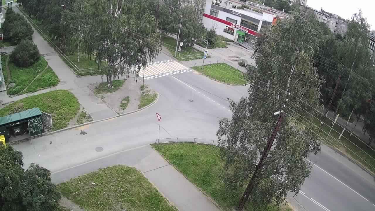 Пешеходный переход на ул. Антонова